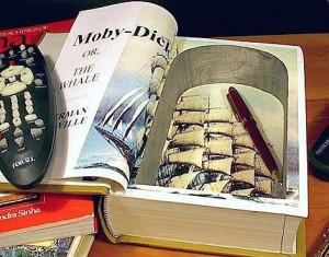 Secret Compartment in Book
