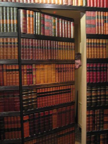 Secret Bookcase Passageway