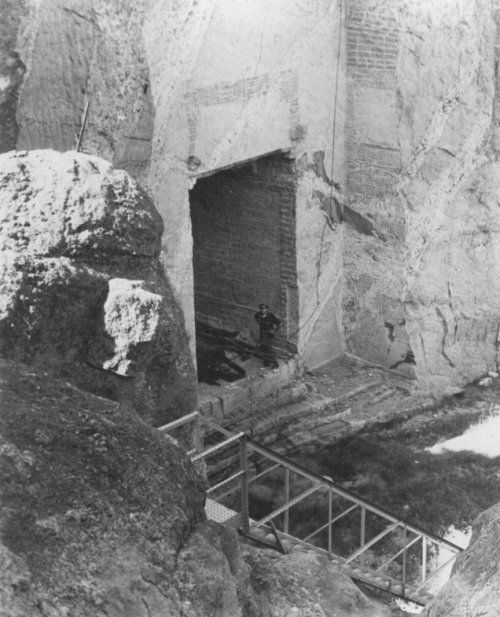 Secret Tunnel - Hall of Records at Mt Rushmore
