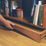 Hidden compartment drawer in toekick of furniture and cabinets