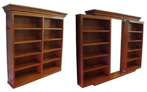Sliding Secret Passage Bookcase Door