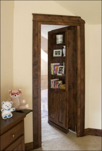 Custom Secret Bookcase