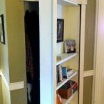 DIY Tutorial on Making a Hidden Bookshelf Door
