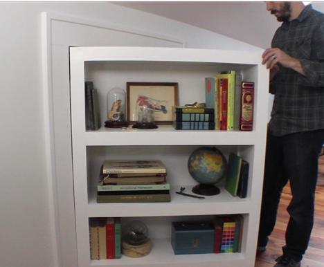 how to build a secret room