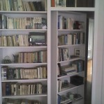 Secret Swing-In Bookcase Passage