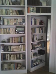 Secret Swing-In Bookcase Passage