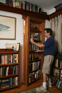 Secret Bookcase Door How-To