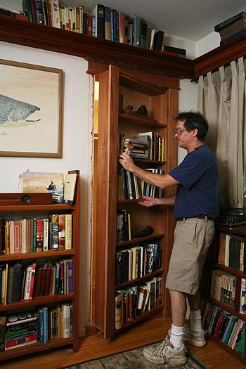 Hidden Bookcase Door How To