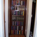 Built-In Secret Bookcase Door
