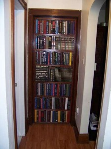 Built-In Bookcase Door