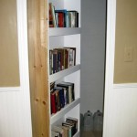 Secret Homemade Swing-In Bookcase Door