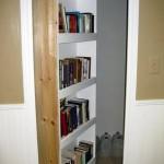 Secret Homemade Swing-In Bookcase Door