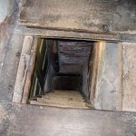 Hidden Priest Hole Beneath Trap Door