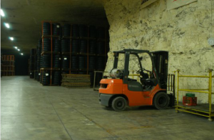 Rent or Lease Secure Underground Private Vault and Warehouse Storage