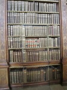 Secret Door Hidden in Bookshelves