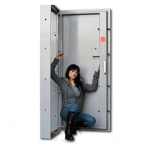 Sturdy Safe Out-Swing Vault Door