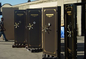 Residential vault doors by Sportsman Steel Safes