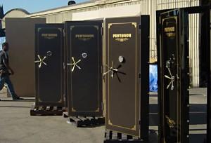 Residential vault doors by Sportsman Steel Safes