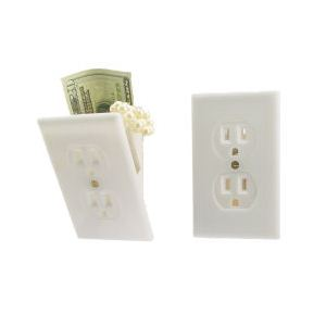 Electrical Wall Outlet Stash Secret Compartment