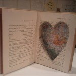 Secret Hollow Book Safe with Heart Cutout