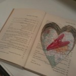 Hollow Book Safe in the Shape of a Heart