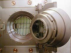 Bank Vault Door in Hiroshima