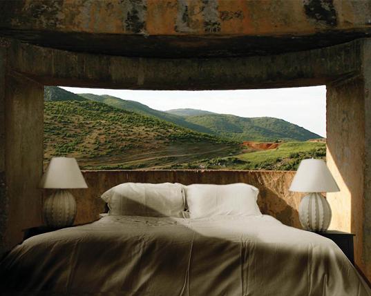 Concrete Bunker in Albania Renovated into Hotel
