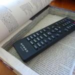 Secret DIY hollow book safe with remote control