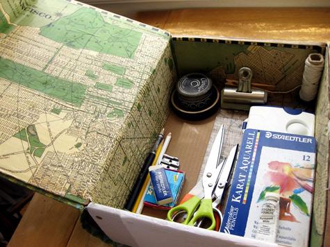 Secret Hollow Book Safe from Cardboard Box | StashVault