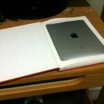 Hollow Book Conceals iPad