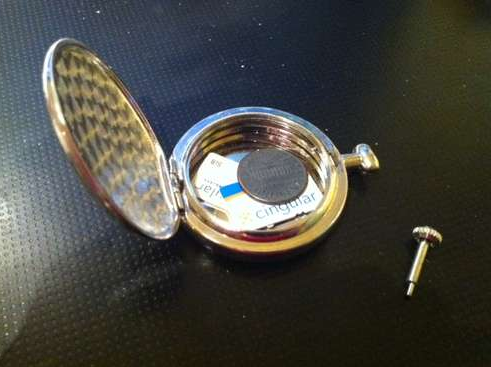 How to make a pocket watch vault with secret compartment