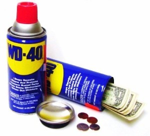 WD-40 Secret Stash Can