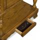 Secret furniture storage compartment in table