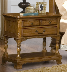 End table with secret compartment drawer