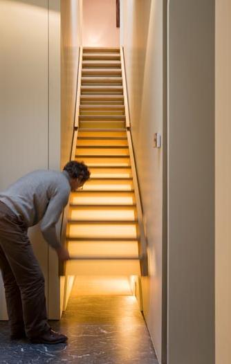 Hidden passage under stairway StashVault