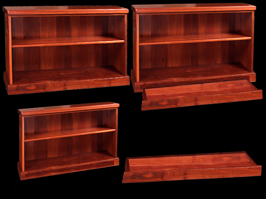 Bookcase Furniture With Secret Compartment Base Drawer