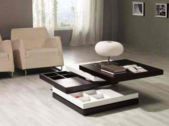 Coffee Table With Hidden Compartments