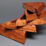 Hidden Compartment in Trapezoid Jewelry Box
