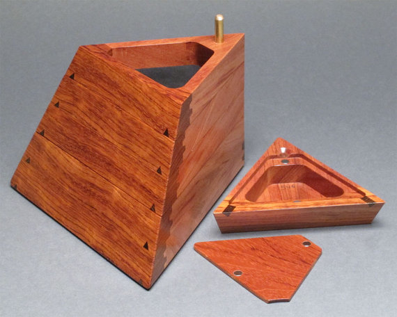 Jewelry Box With Hidden Compartment