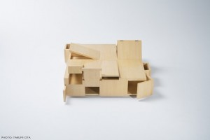 Table made almost entirely of secret compartments