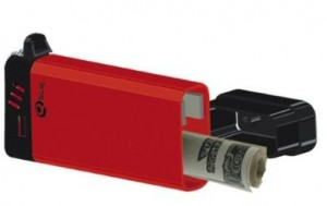 Secret stash cigarette lighter