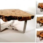 Custom wooden table with many secret compartments
