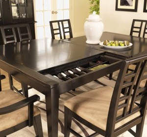 Dining Room Table with Secret Compartment