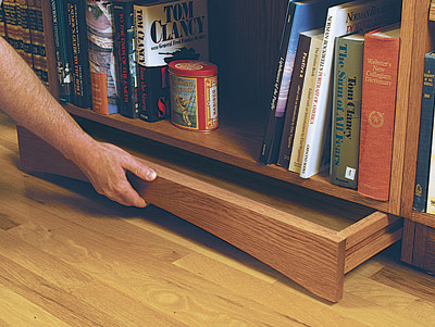 bookcase plans with hidden compartments
