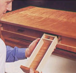 Secret drawers and compartments in wooden furniture