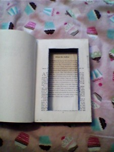 DIY Hollow Book Diversion Safe