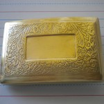 Belt Buckle with Hidden Card Compartment