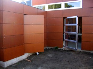 Modern Secret Entrance Door