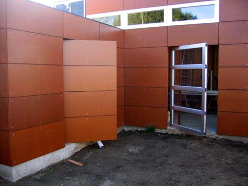 Modern Secret Entrance Door