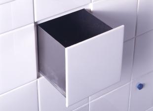 Secret drawer in function tile